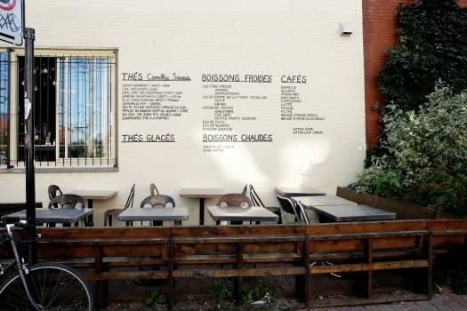 french restaurant terrace  #19770