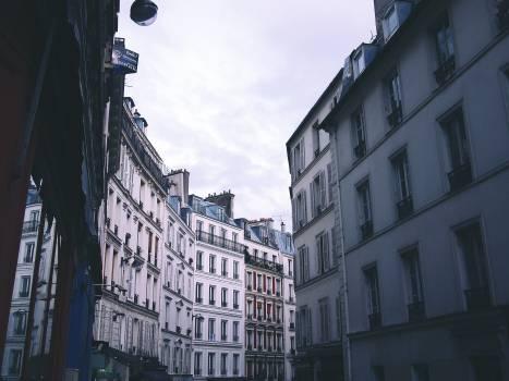 Paris France buildings  Free Photo