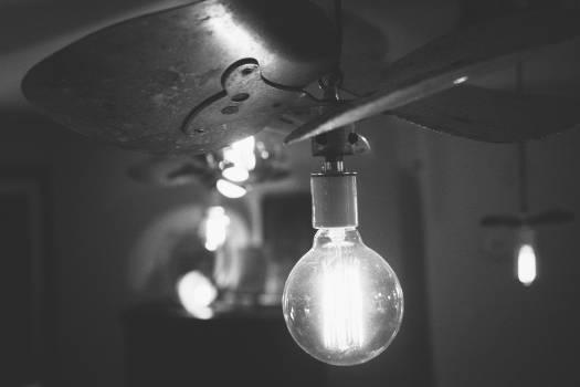 fan blades lightbulb  #19918