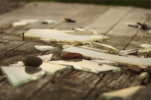 broken glass wood  #19931
