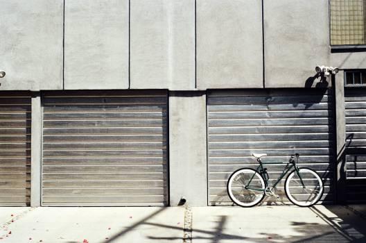 garage door concrete  #20028