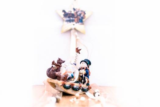 Automaton Toy Snowman Free Photo