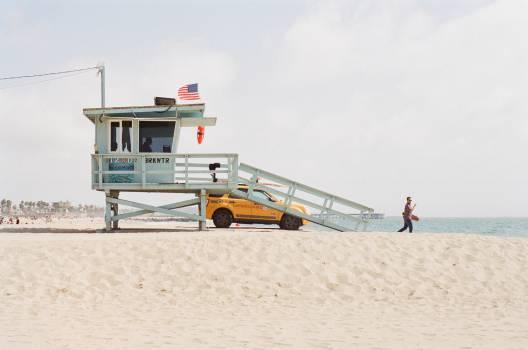 beach sand lifeguard  #20096