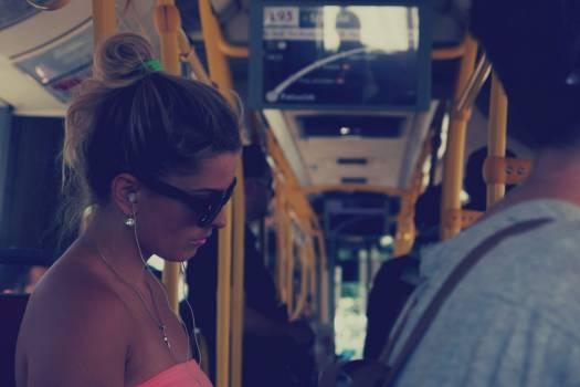girl woman bus  #20102
