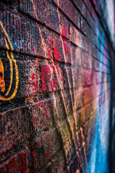 street art colors  Free Photo