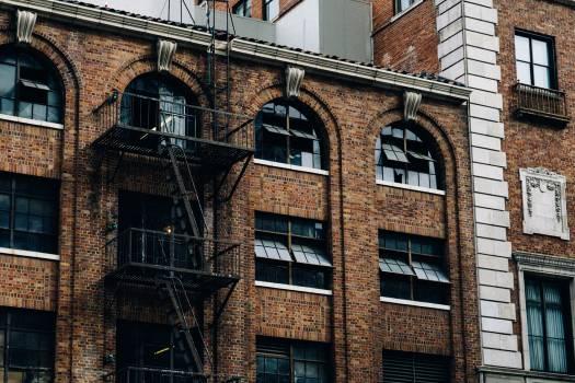 building apartment bricks  Free Photo