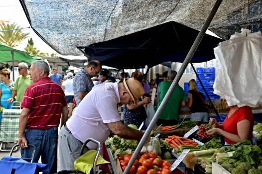 Seller Fruit Food Free Photo
