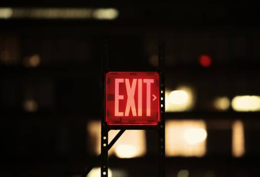exit sign lights  #20137