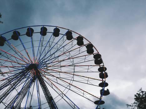 ferris wheel amusement park fair  #20139