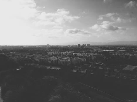 landscape city town  Free Photo