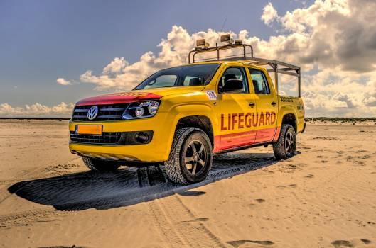 lifeguard truck beach  #20143