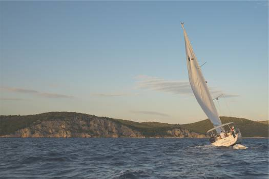 sailing sailboat windy  Free Photo