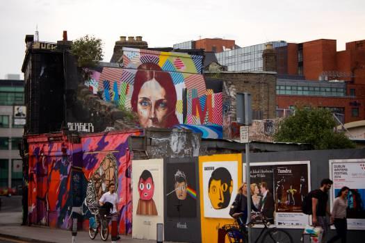 graffiti mural wall  #20159