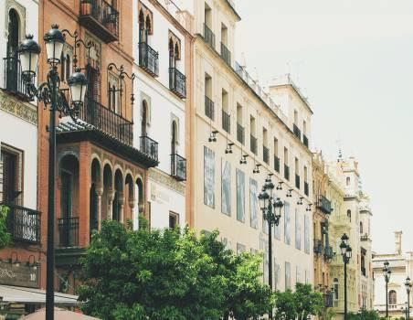 Sevilla Spain buildings  #20208