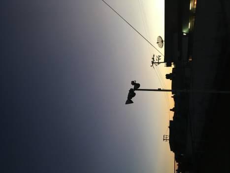 Wire Rod Sky Free Photo