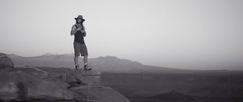 Mountain Man Sport Free Photo