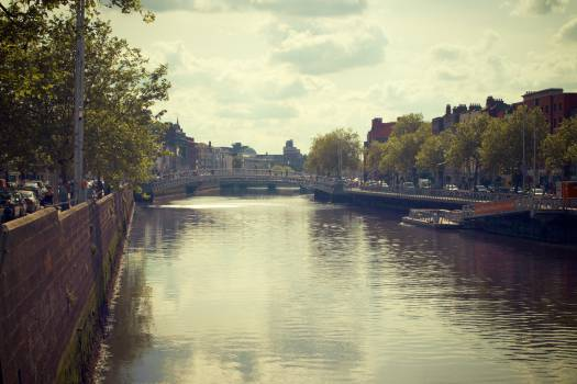 River Liffey Dublin Ireland  #20243