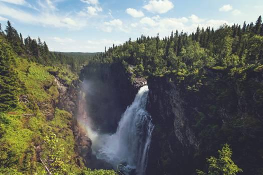 waterfalls river water  #20267