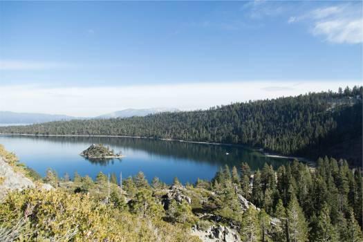 lake water trees  #20282