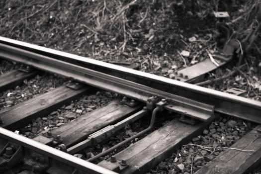 train tracks railroad railway  #20303