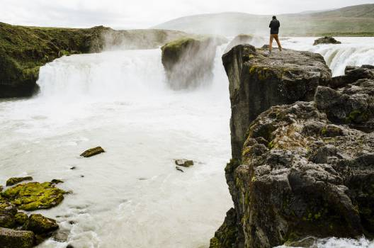 waterfall water mist  #20377