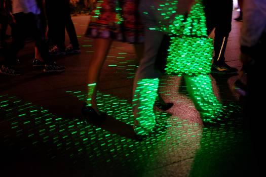 Laser Light Night Free Photo