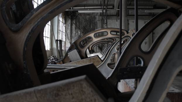 industrial factory manufacturing  Free Photo