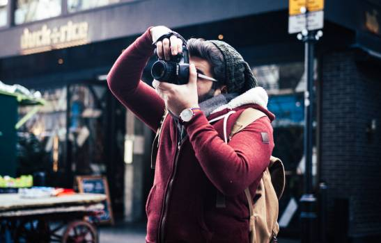 Binoculars Optical instrument Photographer Free Photo
