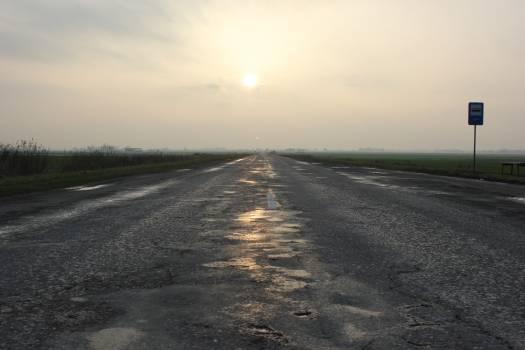 Road Way Asphalt Free Photo