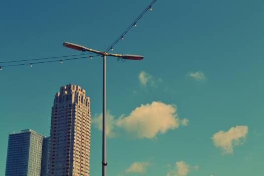 blue sky clouds  #20498