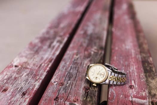 gold watch silver  #20520