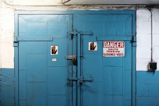 door danger high voltage  #20521