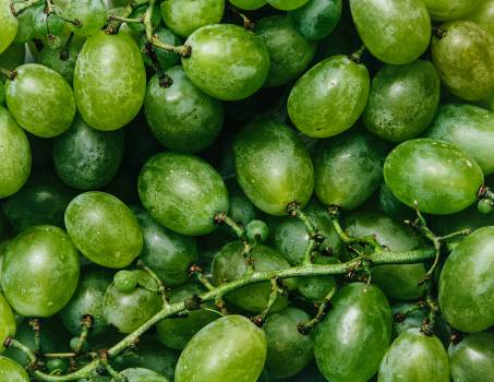 green grapes fruits  #20552