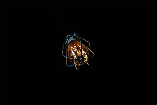 light bulb dark  #20607