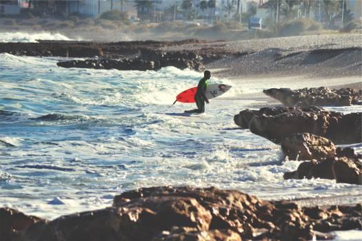 surfer surfboard surfing  #20609