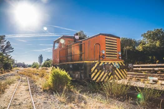 Locomotive Freight car Harvester #206117