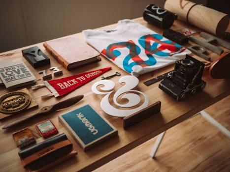 memorabilia trinkets tshirt  Free Photo