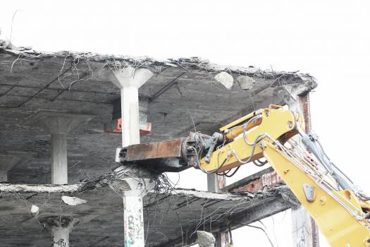 construction demolition equipment  Free Photo