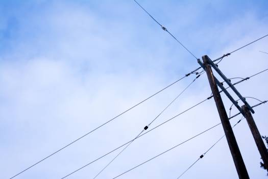 power lines electrical hydro  #20698