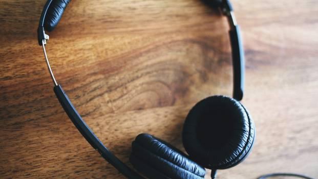 headphones audio technology  Free Photo