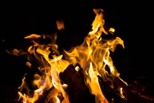 Fireplace Fire Heat Free Photo