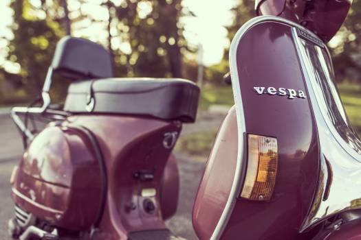 vespa scooter moped  Free Photo