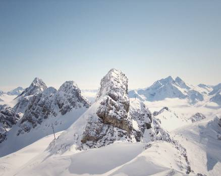 mountains peaks cliffs  #20826