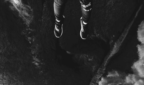 Black Running shoe Covering Free Photo