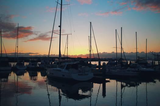 Marina Dock Boat Free Photo
