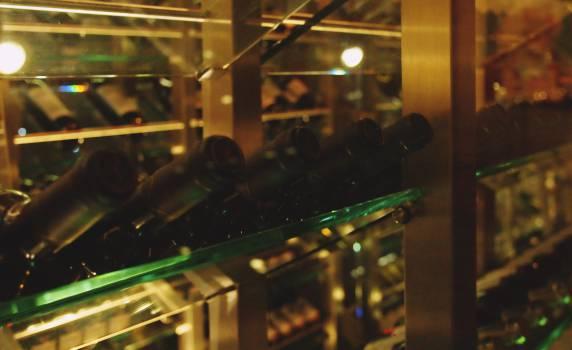 wine cellar bottles  #20872