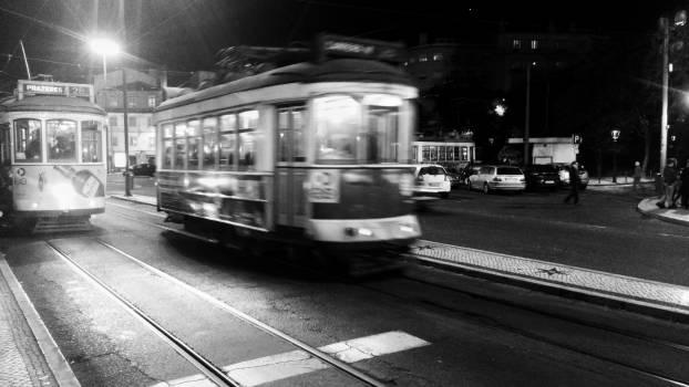 Streetcar Conveyance Wheeled vehicle Free Photo