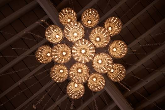 Chandelier Lighting fixture Fixture Free Photo