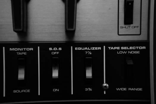 music audio equipment  Free Photo