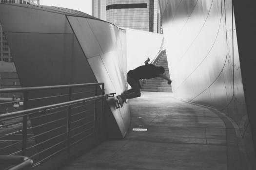 skateboarding skater grind  #20937